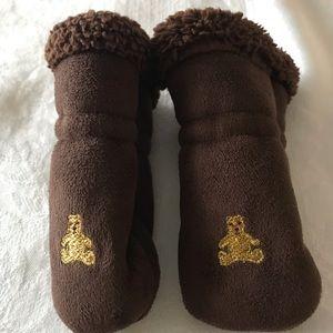 Other - Gap Newborn Baby Brown Mittens  Winter One Size
